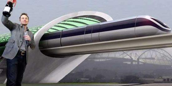 Así es el Hyperloop, el transporte terrestre supersónico ideado por Elon Musk, el creador de los Tesla