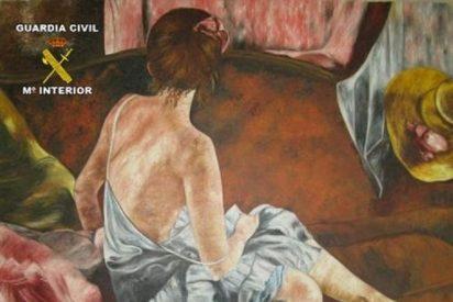 Pone a la venta por internet un cuadro con una firma falsa y la pintora le caza