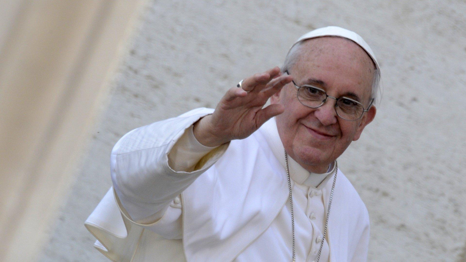 """""""Ciao, soy el papa Francisco"""""""