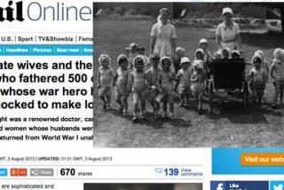 Derek, el hombre que tuvo 500 hijos durante la I Guerra Mundial