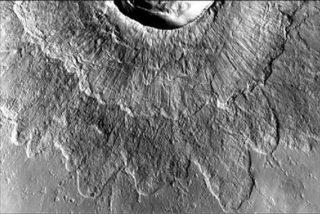 Los 'dobles cráteres' de Marte son consecuencia de impactos sobre hielo