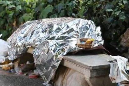 [Vídeo] El mendigo que murió rodeado de ratas en un banco frente al Palacio March