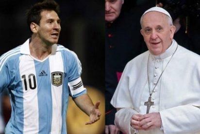 Messi e Higuaín lideran la selección argentina en el homenaje a Bergoglio