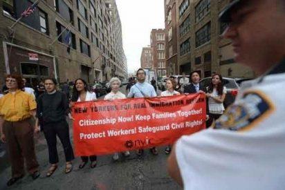 Una religiosa, detenida por reclamar la reforma migratoria en EE.UU.