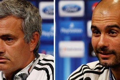 """Mourinho: """"Es norma de la UEFA que contra Pep Guardiola mi equipo termine con diez"""""""