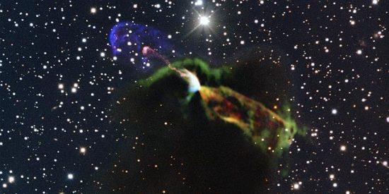 El revolucionario telescopio ALMA se asoma al increíble 'parto' de una estrella