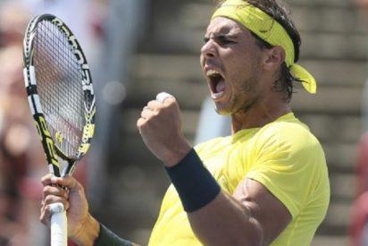 Rafa Nadal le da todo un revés a Raonic y lo fulmina en el Masters 1000 de Montreal