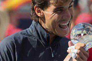 [Video] Nadal logra su octavo título de 2013 derrotando con facilidad a Raonic en la final de Montreal
