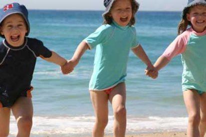 """Los niños menores de tres años no deben tomar el sol porque es """"muy pernicioso"""""""