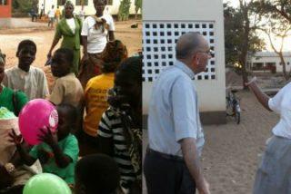 Monseñor Omella regresa a África