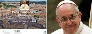 Medio millón de nuevos seguidores de Francisco en Twitter tras la JMJ