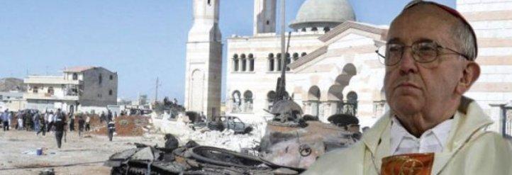 El Papa reunió a la diplomacia vaticana para estudiar soluciones en Siria