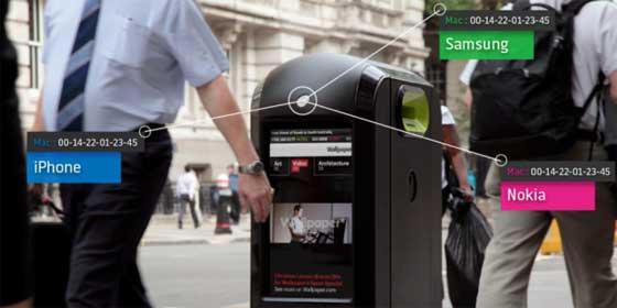 Instalan en Londres 12 papeleras que espían los móviles cercanos y a las 24 h el Ayuntamiento ordena retirarlas