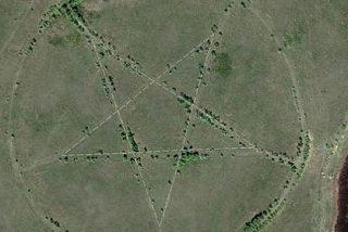Resuelto el misterio del 'gran pentagrama satánico' de Google Maps