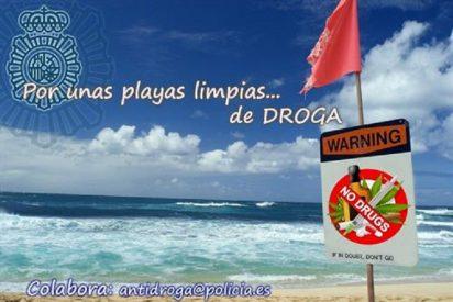 ¡Luchemos contra el tráfico de drogas en las playas con la 'Tweetredada de Verano'!