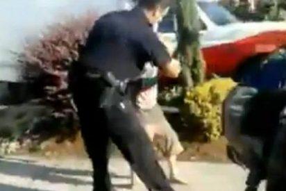 El vídeo del policía que le da de tortas al niño al que separa de su madre