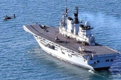 La fragata 'HMS Westminster' recala en Gibraltar para 'asustar' un poco a los españoles