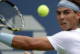 [Video] Rafa Nadal arranca 'a lo macho' en el US Open de tenis con un punto de antología