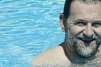 Asi han hecho su agosto este año Rajoy y los políticos españoles