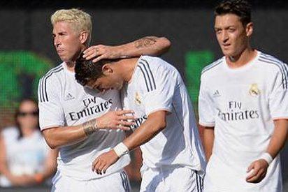 El Real Madrid se pule al Everton y espera al Chelsea de Mourinho