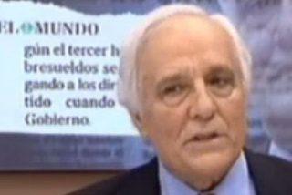 """Raúl del Pozo: """"La 'bomba atómica' son las grabaciones que guarda Bárcenas"""""""