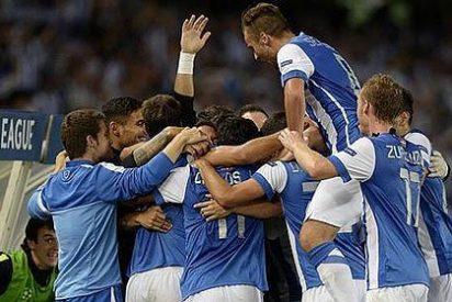 La Real Sociedad se mete en la Champions a toda Vela
