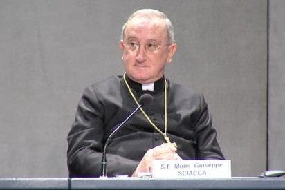 Giuseppe Sciacca, adjunto del Tribunal Supremo vaticano