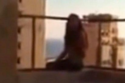 Graba con el móvil cómo se suicida su mujer tirándose desde un octavo piso