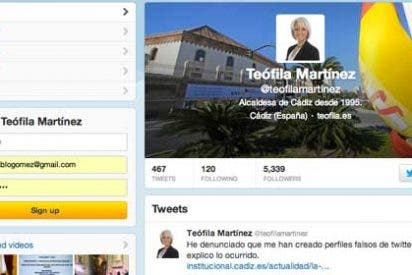 Teófila Martínez está que trina: le crecen como enanos las cuentas falsas en Twitter