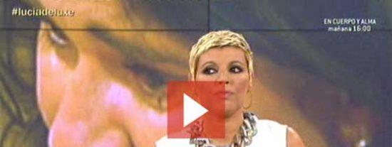 """[Video] Terelu, a Lucía Etxebarria: """"Cuando uno está enfermo debe ir al médico"""""""