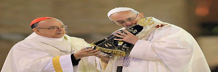 """Las tres palabras del Papa sobre la Virgen: """"Lucha, resurrección y esperanza"""""""