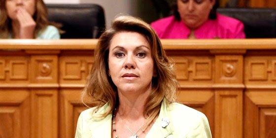 """Cospedal al PSOE: """"Algunos están poco acostumbrados a trabajar"""""""