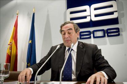 La CEOE vaticina que el paro seguirá en el 26% al menos hasta finales de 2014