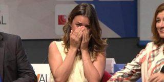 Adriana Ugarte rompe a llorar en la presentación de 'El tiempo entre costuras' ¿Tan buena es la nueva serie de A3?