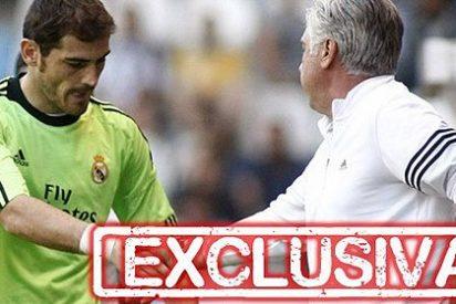 "Carlo Ancelotti a Iker Casillas: ""Jugarás partidos importantes"""