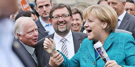 Los aliados de Angela Merkel arrasan en Baviera, a una semana de las generales