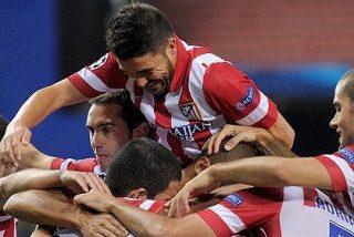 El Atlético de Madrid va en serio en la Champions y enseña los dientes