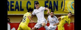 Bale y Cristiano marcan goles pero al Real madrid se le atraganta el Villarreal