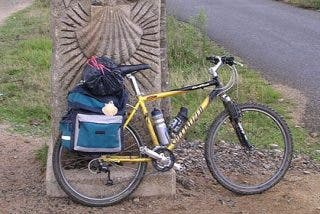 El Camino de Santiago en bicicleta: 'La ruta larga y la ruta corta'