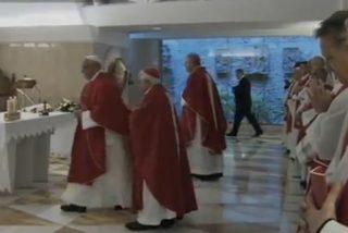 """Francisco arremete contra los """"cristianos sin Resurrección"""""""