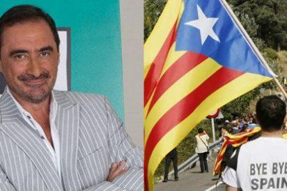 """Carlos Herrera (Onda Cero): """"Actos como el de 'la cadena catalana' dan muchos planos televisivos, si tiene un NODO como TV3"""""""