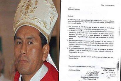 """El ex obispo de Ayacucho: """"En algunas circunstancias he sido imprudente"""""""