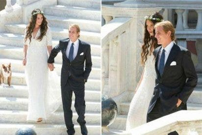 Andrea Casiraghi se casa en el palacio monagesco 'de tapadillo' y por lo civil con Tatiana Santo Domingo