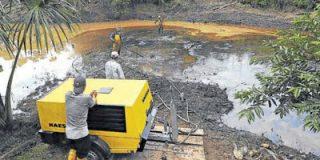 Sucumbíos se suma a la campaña contra una petrolera