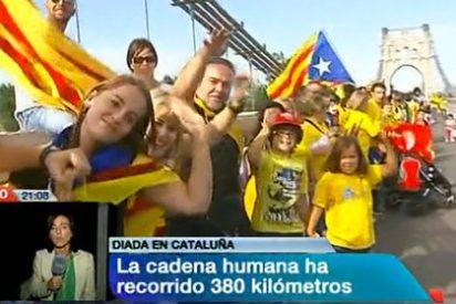 """ABC, molesto con TVE: """"Una cosa es informar sobre los eventos organizados en Cataluña y otra hacer propaganda de un acto inspirado en el odio a España"""""""
