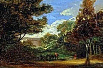 Encuentran oculta en un armario una obra del original pintor británico John Constable