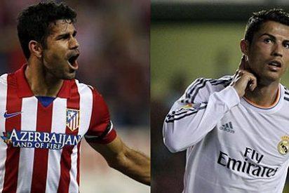 Las huestes blancas de Cristiano Ronaldo contra las rojiblancas de Diego Costa