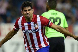 El Atlético de Madrid gana 2-1 a Osasuna y Pichichi Diego Costa llega lanzado al derbi