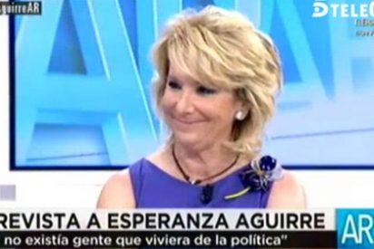 """Esperanza zanja las preguntas sobre si se ve candidata en Madrid: """"Eso pregúnteselo a Mariano Rajoy"""