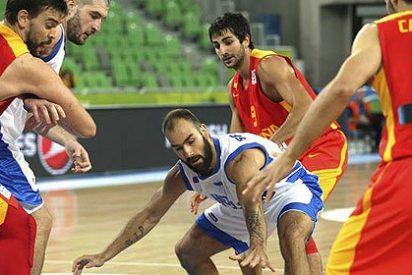 España cae ante Grecia víctima de Spanoulis y se complica el Eurobasket